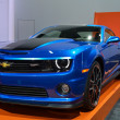 图库照片: Chevrolet Camaro Hot Wheels -LAuto Show 11-30-2012 - Convention Center - Los Angeles