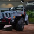 Foto Stock: Jeep Rubicon - LAuto Show 11-30-2012 - Convention Center - Los Angeles