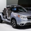 图库照片: Subaru Forester - LAuto Show 11-30-2012 - Convention Center - Los Angeles