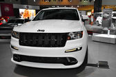 Jeep Grand Cherokee SRT8 - LA Auto Show 11-30-2012 - Convention Center - Los Angeles — Stock Photo