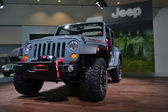Jeep Rubicon - LA Auto Show 11-30-2012 - Convention Center - Los Angeles — Stock Photo