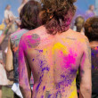 Celebrate Holi Festival Of Colors — Stock Photo