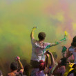 Celebrate Holi Festival Of Colors — Stock Photo #22473343