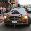 Defiance Law Keeper Dodge Car on San Diego Downtown street at the Comic Con — Stock Photo