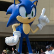Sega Sonic The Hedgehog, at the Comic Con — Stock Photo #28789997