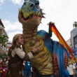 Stock Photo: Dragon at Comic Con 2013