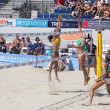 Brazilians beach volley players Taiana Lima and Talita Antunes v — Stock Photo