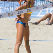 Brazilian beach volley player Talita Antunes during the ASICS Wo — Stock Photo
