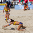 Brazilian beach volley player Taiana Lima and Talita Antunes, du — Stock Photo