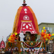 The Chariot passing on Ocean Front Walk street in the 37th Annual Festival of the Chariots — Stock Photo #29412205