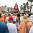 The Chariot passing on Ocean Front Walk street in the 37th Annual Festival of the Chariots — Stock Photo #29412605