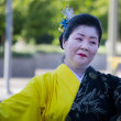 Unidentified dancers participate at the 73th Annual Nisei Week G — Stock Photo