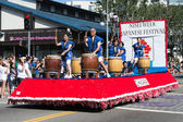 The parade car at 73th Annual Nisei Week Grand Parade — Stock Photo
