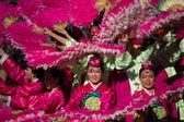 Korejské tanečníky účast na festivalu 40 la korejské — Stock fotografie
