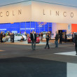Lincoln stand at the LA Auto Show. — Foto Stock