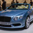 Bentley GTCV8  car on display at the LA Auto Show. — Foto Stock