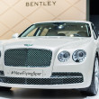 Bentley New Flying Spur  car on display at the LA Auto Show. — Stock Photo