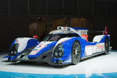 Toyota TS030 Hybrid car on display at the LA Auto Show. — 图库照片