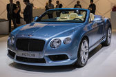 Bentley GTCV8 car on display at the LA Auto Show. — Stock Photo