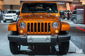 Jeep Wrangler Robicon car on display at the LA Auto Show. — Stockfoto