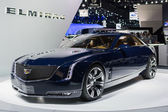 Cadillac Elmiraj car on display at the LA Auto Show. — Stock Photo