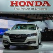 Постер, плакат: Honda Accord Plug In Hybrid car on display at the LA Auto Show