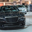 ������, ������: Chrysler 300C car on display at the LA Auto Show