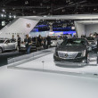 Chrysler stand at the LA Auto Show. — Foto Stock