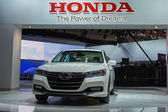 Honda Accord Plug-In Hybrid car on display at the LA Auto Show. — Stock Photo