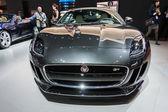 Jaguar F-Type car on display at the LA Auto Show. — Stok fotoğraf
