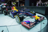 Red Bull Racing RB8 on display at the LA Auto Show. — Stok fotoğraf