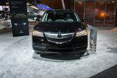 Acura MDX car on display at the LA Auto Show. — Stok fotoğraf