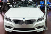 BMW Z4 Convertible car on display at the LA Auto Show. — Стоковое фото