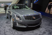 Cadillac CTS 4 car on display at the LA Auto Show. — Stock Photo