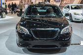 Chrysler 200 Sedan car on display at the LA Auto Show. — Stock Photo