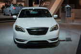 Chrysler 200 Super S car on display at the LA Auto Show. — Stock Photo