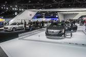 Chrysler stand la auto show at. — Stok fotoğraf