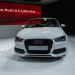 Audi A3 Cabriolet car on display at the LA Auto Show. — Stock Photo