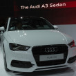 Audi A3 car on display at the LA Auto Show. — Stock Photo