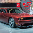 ������, ������: Dodge Challenger car on display at the LA Auto Show