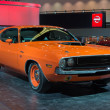 Постер, плакат: Dodge Challenger RT 383 Magnum car on display at the LA Auto S