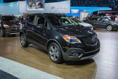 Buick Enclave SUV car on display at the LA Auto Show. — Stock Photo