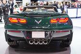 Chevrolet Corvette Stingray Convertible car on display at the LA — Stock Photo
