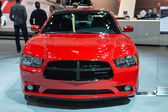 Dodge Charger car on display at the LA Auto Show. — Stock Photo
