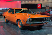 Dodge Challenger RT 383 Magnum car on display at the LA Auto S — Stock Photo