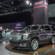 GMC Yukon car on display at the LA Auto Show. — Stock Photo