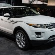 Постер, плакат: Land Rover Range Rover car on display at the LA Auto Show