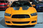 Dodge Charger SRT8 Super Bee car on display at the LA Auto Show. — Stock Photo
