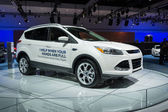 Ford Escape Hands-Free Liftgate cars on display at the LA Auto S — Stock Photo
