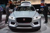 Jaguar C-X17 SUV Concept car on display at the LA Auto Show. — Stock Photo